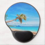 "Tropical Caribbean beach Gel Mouse Pad<br><div class=""desc"">Tropical Caribbean beach. Perfect gift for home,  office or decoration. See also the other great products!</div>"