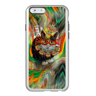Tropical Carnival Cat iPhone Case