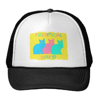 """Tropical Cats"" Trucker Hat"