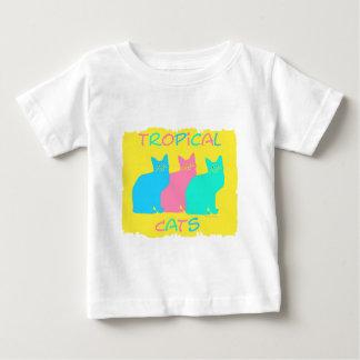 """Tropical Cats"" Infant T-shirt"