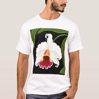 Tropical Cattleya Orchid Flower T Shirt