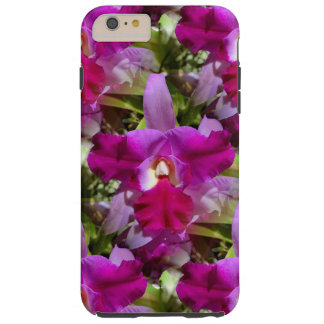 Tropical Cattleya Orchid Flower Tough iPhone 6 Plus Case