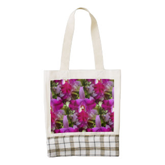 Tropical Cattleya Orchid Flower Zazzle HEART Tote Bag