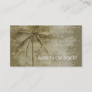 Change of address business cards templates zazzle tropical change of address business card colourmoves