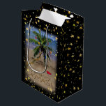 """Tropical Christmas Gift Bag<br><div class=""""desc"""">For those who would rather spend the holidays in a warmer place..</div>"""