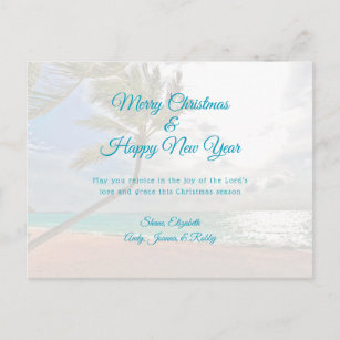 Ocean New Year\'s Cards   Zazzle