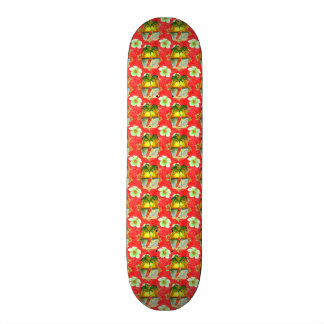 Tropical Christmas Palm Tree Skateboard