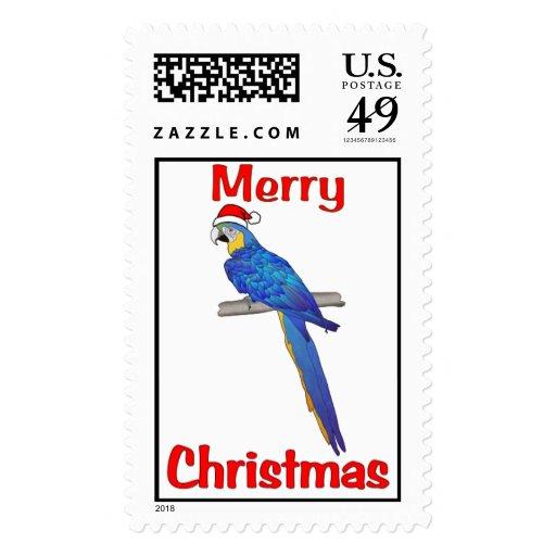 Tropical Christmas Postage Stamps