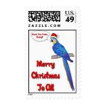Tropical Christmas Stamp