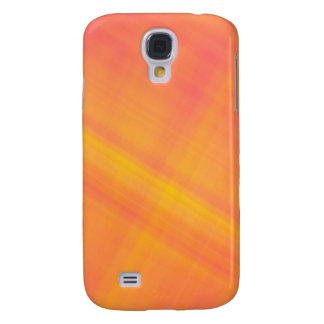 tropical citrus  orange and lemon abstract galaxy s4 case