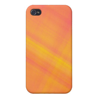 tropical citrus  orange and lemon abstract iPhone 4/4S cases