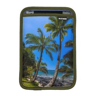 Tropical coastline 2 iPad mini sleeve