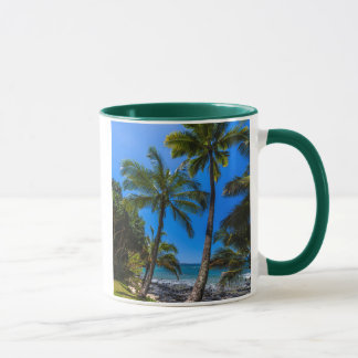 Tropical coastline 2 mug