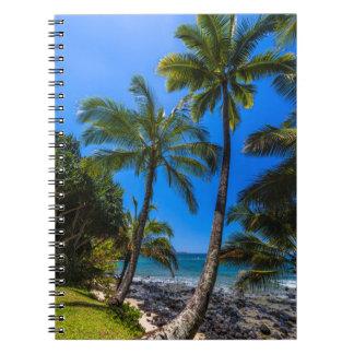 Tropical coastline 2 notebook