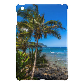 Tropical coastline iPad mini case