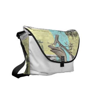 Tropical Cockatoo Dream Courier Bag