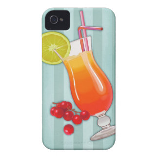 Tropical cocktail and berry iPhone 4 Case-Mate case