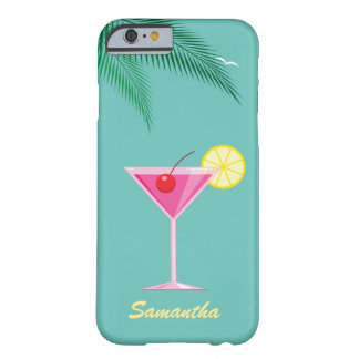 Tropical Cocktail iPhone 6/6s Case - turquoise