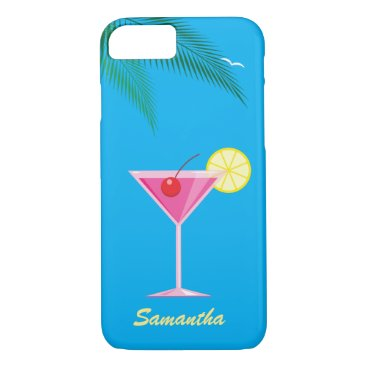 Beach Themed Tropical Cocktail iPhone 7 Case