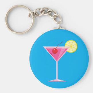 Tropical Cocktail Keychain