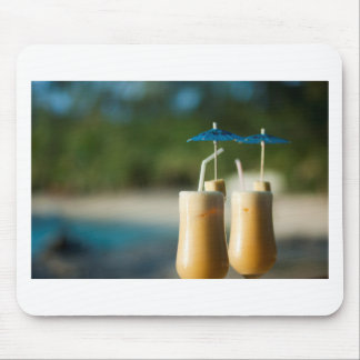 Tropical cocktails for two mouse pad
