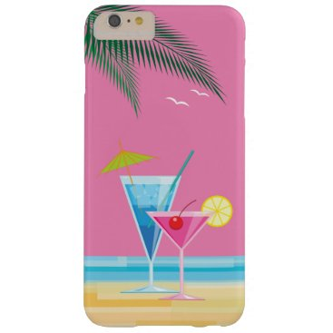 Beach Themed Tropical Cocktails iPhone 6/6s Plus Case