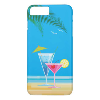 Tropical Cocktails iPhone 7 Plus Case
