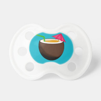 Tropical Coconut Drink BooginHead Pacifier