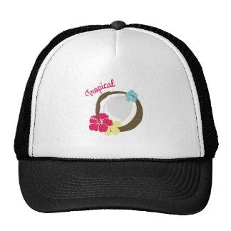 Tropical Coconut Trucker Hats