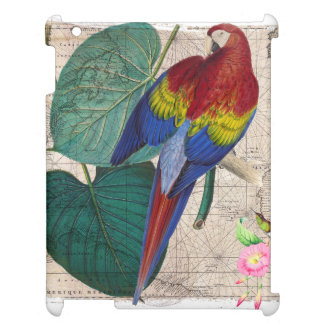 Tropical Collage iPad Case