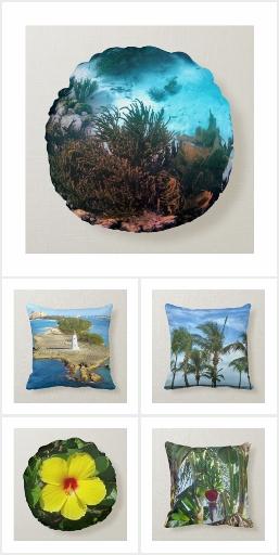 Tropical Color Pillows