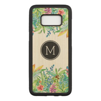 Tropical colorful floral design GR2 Carved Samsung Galaxy S8 Case