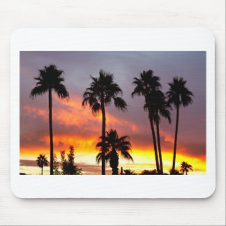 Tropical Colorful Storm Mouse Pad