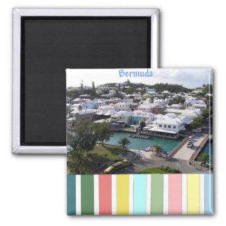 Tropical Colors of Bermuda Magnets