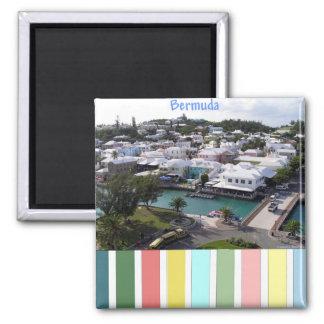 Tropical Colors of Bermuda Magnet
