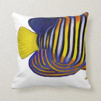 Tropical coral reef fish Regal Angelfish Pillows
