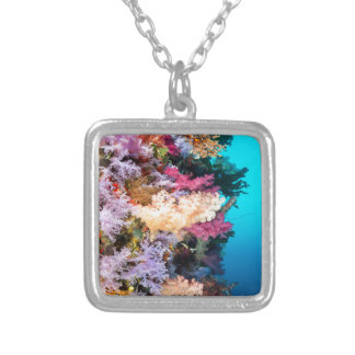 Tropical coral reef necklaces