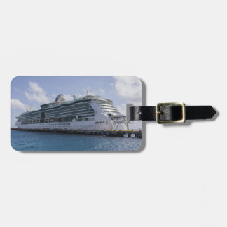 Tropical Cruise Ship Tag For Luggage