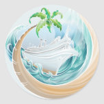 Tropical Cruise Stickers