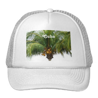Tropical Cuba Trucker Hat