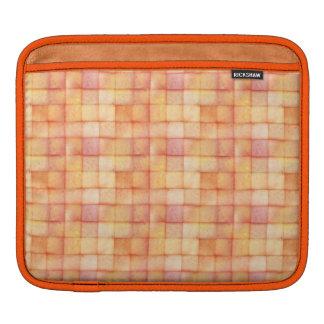 Tropical cubes iPad sleeve