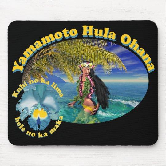 Tropical Custom For Yamamoto Hula Ohana Mousepad 2