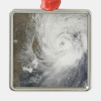 Tropical Cyclone Aila Metal Ornament