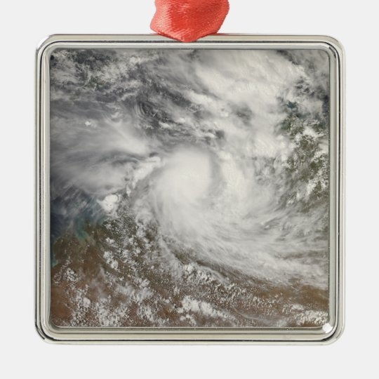 Tropical Cyclone Billy Metal Ornament
