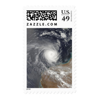 Tropical Cyclone Billy off Australia Postage Stamp