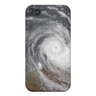 Tropical Cyclone Billy over Australia 2 iPhone 4/4S Cases