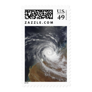 Tropical Cyclone Billy over Australia 2 Postage