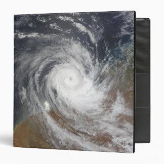 Tropical Cyclone Billy over Australia 2 Vinyl Binder
