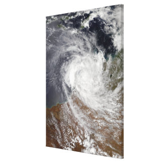 Tropical Cyclone Billy over Australia Canvas Print