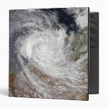 Tropical Cyclone Billy over Australia Vinyl Binder